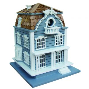 Greenport Cottage With Blue Mansard Roof