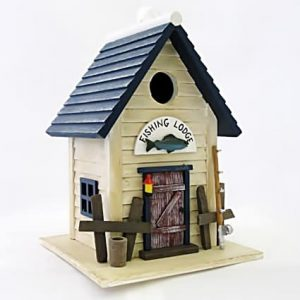 Lake Trout Cottage Birdhouse