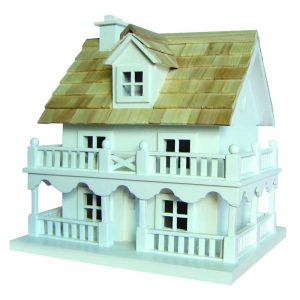 Elm Street Cottage Birdhouse With Bracket