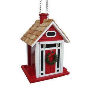 Centerport Christmas Feeder In Red