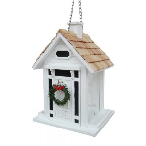 Centerport Christmas Feeder In White