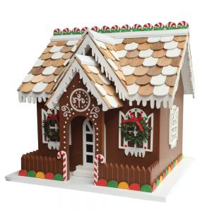 Sugarplum Cottage Birdhouse