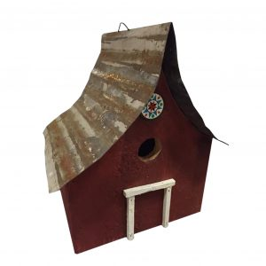 Amish County Barn Birdhouse