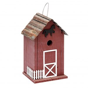 Clark Stable  Birdhouse In Red