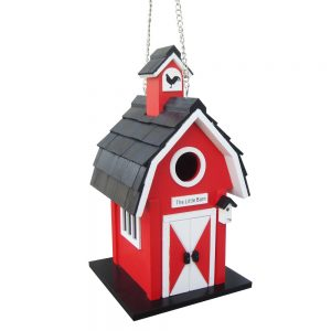 Red Farmers Birdhouse
