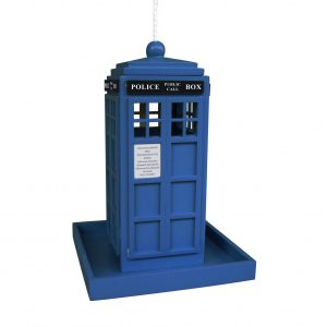 Tardis Feeder In Blue