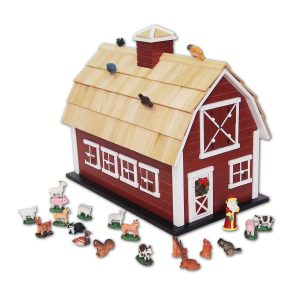 Christmas Barn Advent Calendar