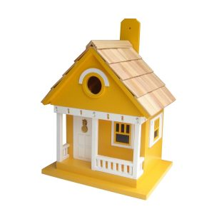 Welcome Pineapple Cottage Birdhouse